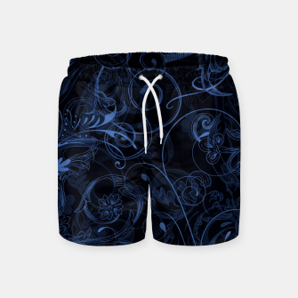 Thumbnail image of floral ornaments pattern nfd Swim Shorts, Live Heroes