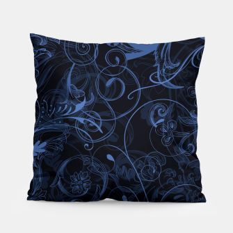 Thumbnail image of floral ornaments pattern nfd Pillow, Live Heroes