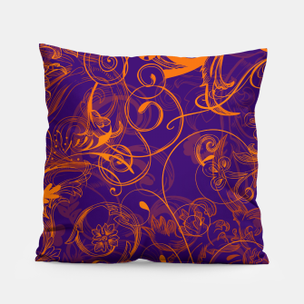 Thumbnail image of floral ornaments pattern vo Pillow, Live Heroes