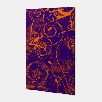 Thumbnail image of floral ornaments pattern vo Canvas, Live Heroes