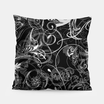 Thumbnail image of floral ornaments pattern bl Pillow, Live Heroes