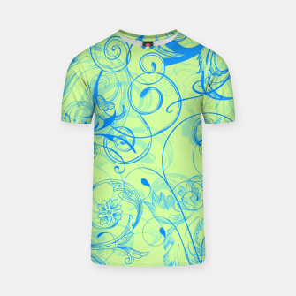 Thumbnail image of floral ornaments pattern voi T-shirt, Live Heroes