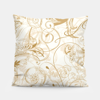 Thumbnail image of floral ornaments pattern nfdi Pillow, Live Heroes