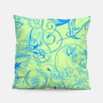 Thumbnail image of floral ornaments pattern voi Pillow, Live Heroes