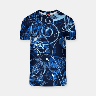 Thumbnail image of floral ornaments pattern c82 T-shirt, Live Heroes