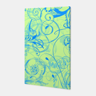 Thumbnail image of floral ornaments pattern voi Canvas, Live Heroes