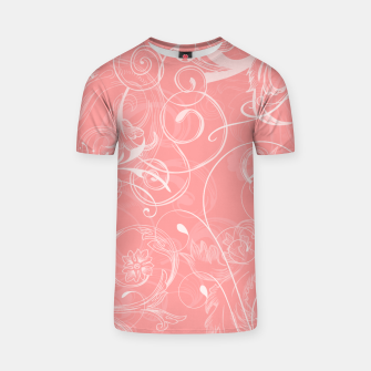 Thumbnail image of floral ornaments pattern pw T-shirt, Live Heroes