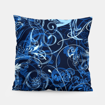 Thumbnail image of floral ornaments pattern c82 Pillow, Live Heroes