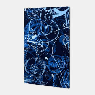 Thumbnail image of floral ornaments pattern c82 Canvas, Live Heroes