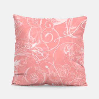 Thumbnail image of floral ornaments pattern pw Pillow, Live Heroes