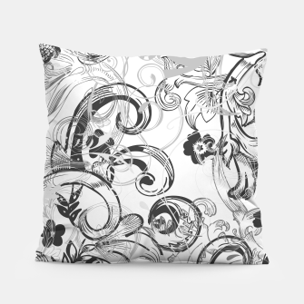 Thumbnail image of floral ornaments pattern wh Pillow, Live Heroes