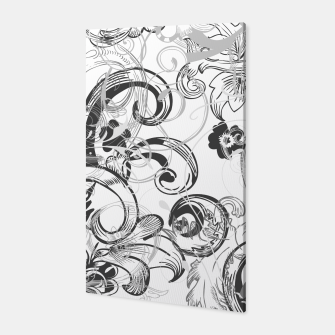 Thumbnail image of floral ornaments pattern wh Canvas, Live Heroes