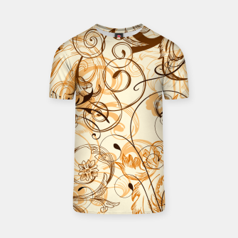 Thumbnail image of floral ornaments pattern c82i T-shirt, Live Heroes