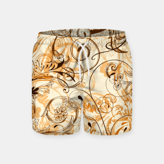 Thumbnail image of floral ornaments pattern c82i Swim Shorts, Live Heroes
