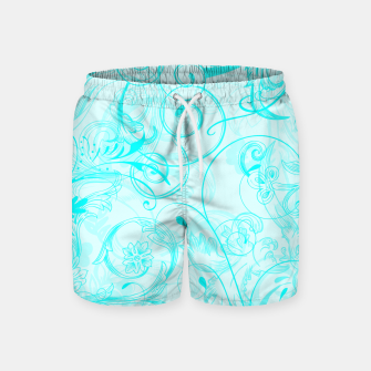 Thumbnail image of floral ornaments pattern chi Swim Shorts, Live Heroes