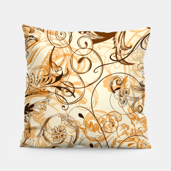 Thumbnail image of floral ornaments pattern c82i Pillow, Live Heroes