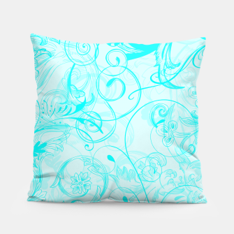 Thumbnail image of floral ornaments pattern chi Pillow, Live Heroes