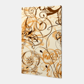 Thumbnail image of floral ornaments pattern c82i Canvas, Live Heroes
