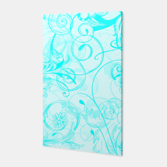 Thumbnail image of floral ornaments pattern chi Canvas, Live Heroes