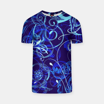 Thumbnail image of floral ornaments pattern cpt T-shirt, Live Heroes