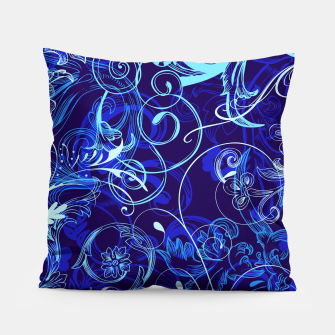 Thumbnail image of floral ornaments pattern cpt Pillow, Live Heroes
