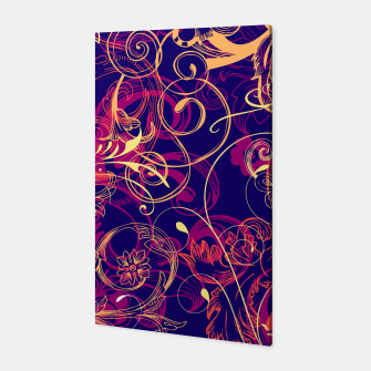 Thumbnail image of floral ornaments pattern cbry Canvas, Live Heroes