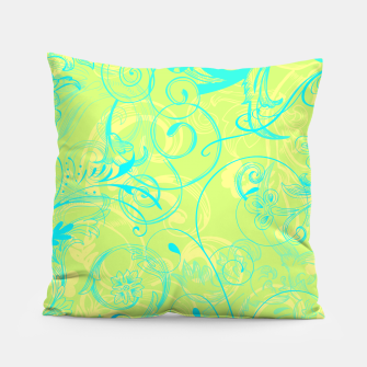 Thumbnail image of floral ornaments pattern dpti Pillow, Live Heroes