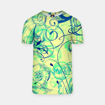 Thumbnail image of floral ornaments pattern cbryi T-shirt, Live Heroes