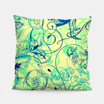 Thumbnail image of floral ornaments pattern cbryi Pillow, Live Heroes