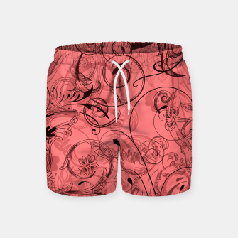 Thumbnail image of floral ornaments pattern dpw Swim Shorts, Live Heroes