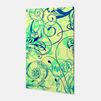 Thumbnail image of floral ornaments pattern cbryi Canvas, Live Heroes