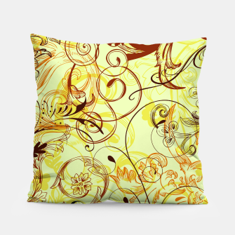 Thumbnail image of floral ornaments pattern cpti Pillow, Live Heroes