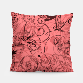 Thumbnail image of floral ornaments pattern dpw Pillow, Live Heroes