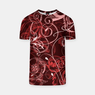 Thumbnail image of floral ornaments pattern cch T-shirt, Live Heroes