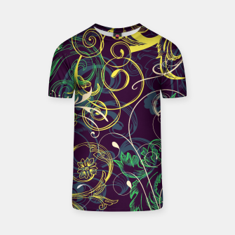 Thumbnail image of floral ornaments pattern cvgo T-shirt, Live Heroes