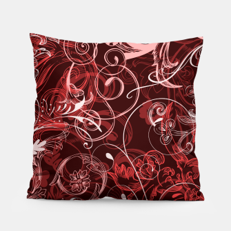 Thumbnail image of floral ornaments pattern cch Pillow, Live Heroes