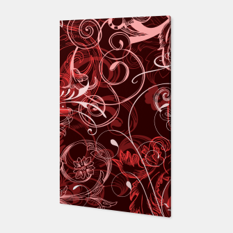 Thumbnail image of floral ornaments pattern cch Canvas, Live Heroes