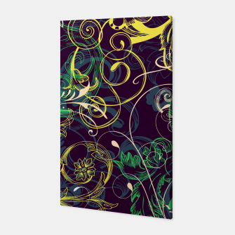 Thumbnail image of floral ornaments pattern cvgo Canvas, Live Heroes