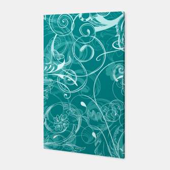 Thumbnail image of floral ornaments pattern dpwi Canvas, Live Heroes