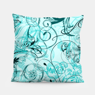 Thumbnail image of floral ornaments pattern cchi Pillow, Live Heroes