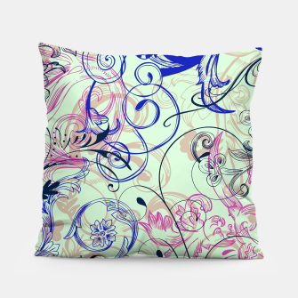 Thumbnail image of floral ornaments pattern cvgoi Pillow, Live Heroes