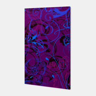 Thumbnail image of floral ornaments pattern dvgo Canvas, Live Heroes