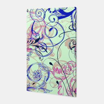 Thumbnail image of floral ornaments pattern cvgoi Canvas, Live Heroes