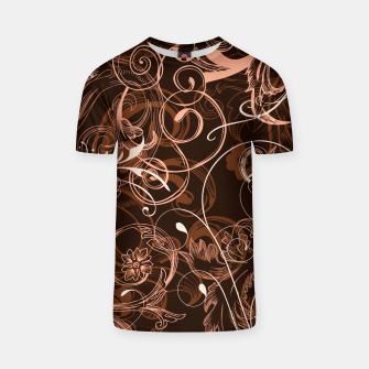 Thumbnail image of floral ornaments pattern cco T-shirt, Live Heroes