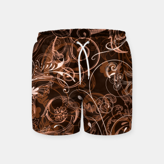 Thumbnail image of floral ornaments pattern cco Swim Shorts, Live Heroes