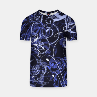 Thumbnail image of floral ornaments pattern db T-shirt, Live Heroes