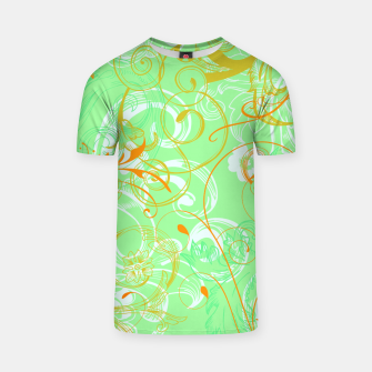 Thumbnail image of floral ornaments pattern dvgoi T-shirt, Live Heroes