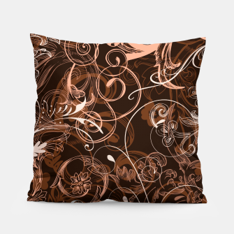 Thumbnail image of floral ornaments pattern cco Pillow, Live Heroes