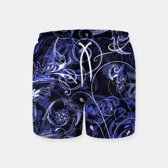 Thumbnail image of floral ornaments pattern db Swim Shorts, Live Heroes