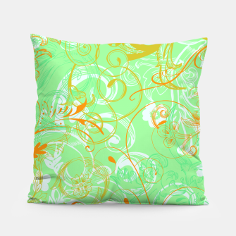 Thumbnail image of floral ornaments pattern dvgoi Pillow, Live Heroes